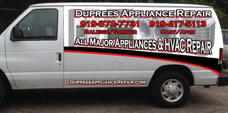 Dupree S Appliance Repair Raleigh Nc